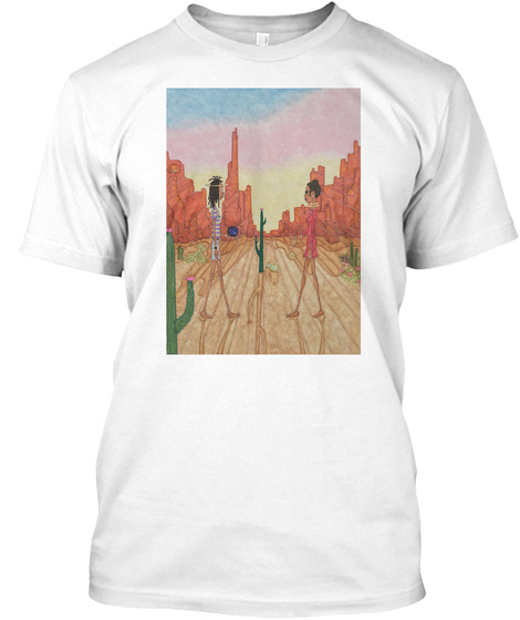 Spacetime Miracle White T-Shirt Front