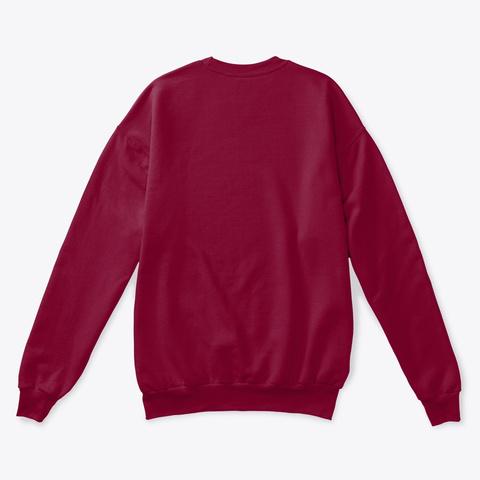 Fibromyalgia No Energy Cardinal  Sweatshirt Back