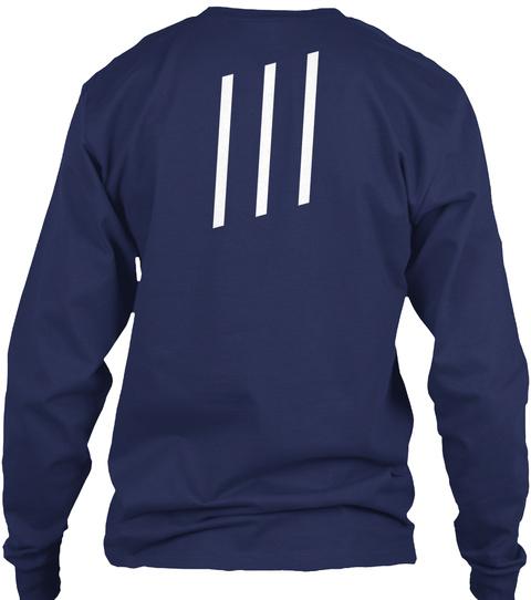 /// Navy T-Shirt Back
