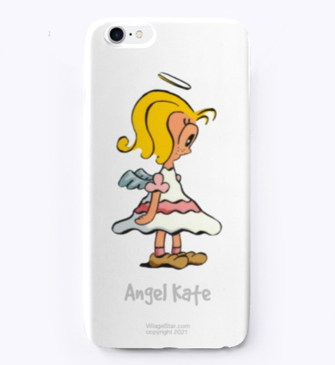 Angel Kate Iphone Case Standard T-Shirt Front