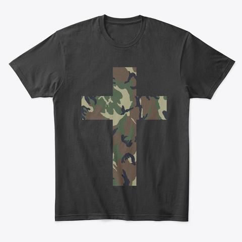 "Armor Of God "" We War Different"" Black T-Shirt Front"