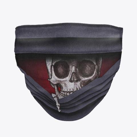 Skull Looking  Masks Facemask Mask Standard T-Shirt Front