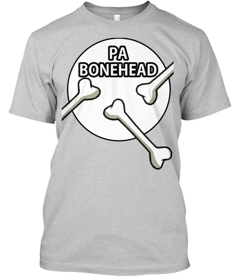 Bonehead T Shirt Pa Light Steel T-Shirt Front