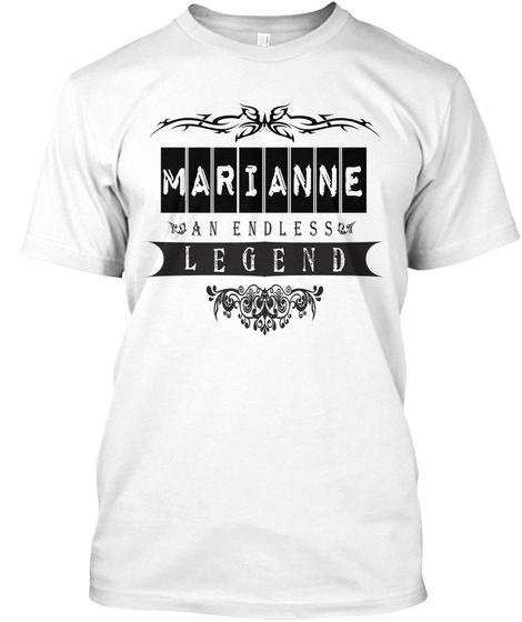 Marianne An Endless Legend White T-Shirt Front
