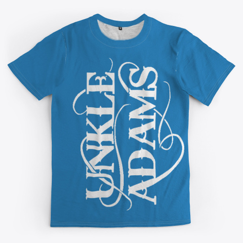 Live Life With Purpose Gear Denim Blue T-Shirt Front