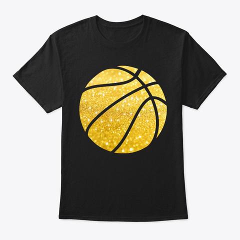 Basketball Shirt   Basketball Christmas Black T-Shirt Front