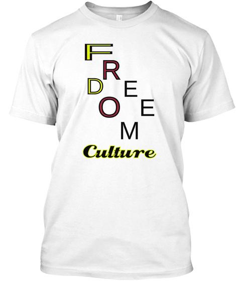 F R D E O E M Culture White T-Shirt Front
