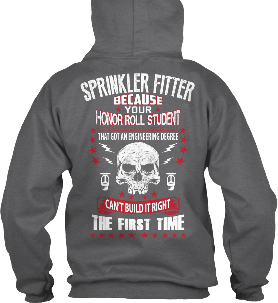 Sprinkler Fitter Pain Is Real Ritter/'s Life The These Standard College Hoodie