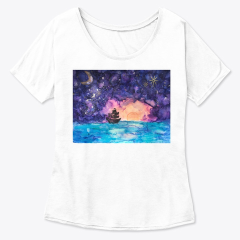 Chase New Horizons White  T-Shirt Front