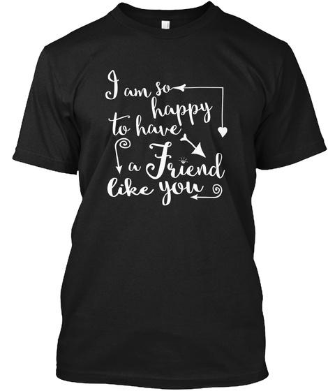 Best Friends Black T-Shirt Front