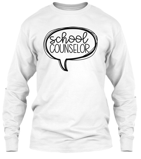 cute counselor tee