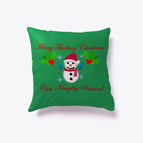 Christmas Pillow Green T-Shirt Front