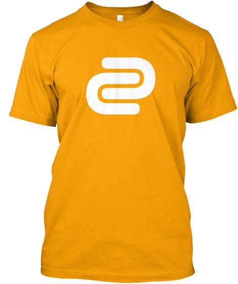 David Cutter Music Yellow/Cutter Tee Gold T-Shirt Front