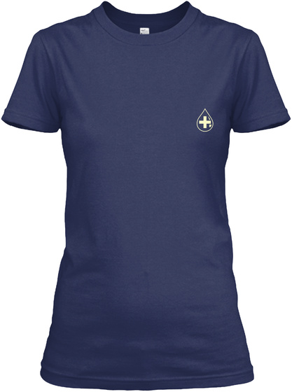 Phlebotomist Limited Edition Navy T-Shirt Front