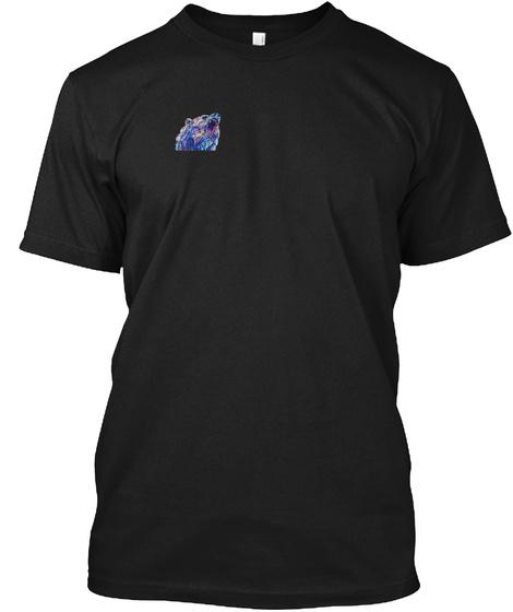 Art Of A Bear Black T-Shirt Front