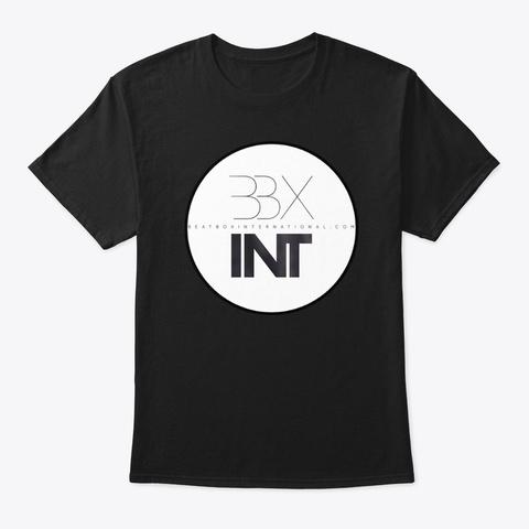 Bbxint Logo White Black T-Shirt Front