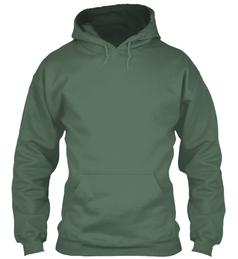 November Is Coming. Moss Green T-Shirt Front