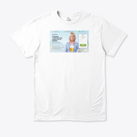 Urinol Pro White T-Shirt Front