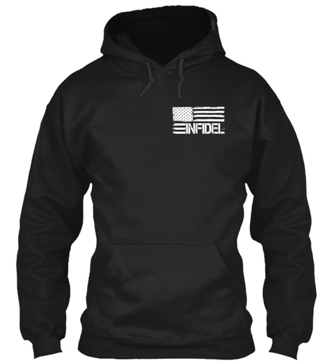 Isis Hunting Permit   Limited Edition Black Sweatshirt Front