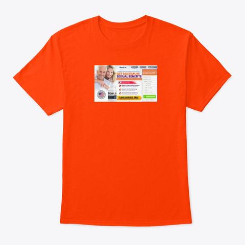 Bio Rexin Male Enhancement Pills Orange áo T-Shirt Front