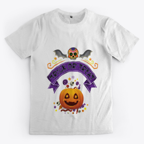 Trick Or Treat Halloween Standard T-Shirt Front