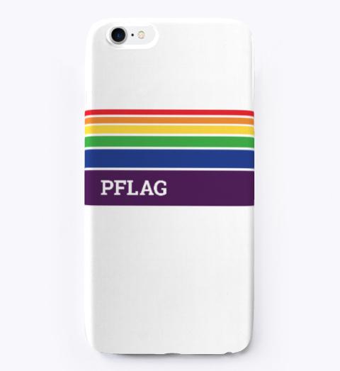 Rainbow Pflag I Phone Case Standard T-Shirt Front