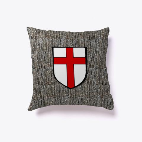 Heraldic Cushion   St Georges Cross Standard T-Shirt Front
