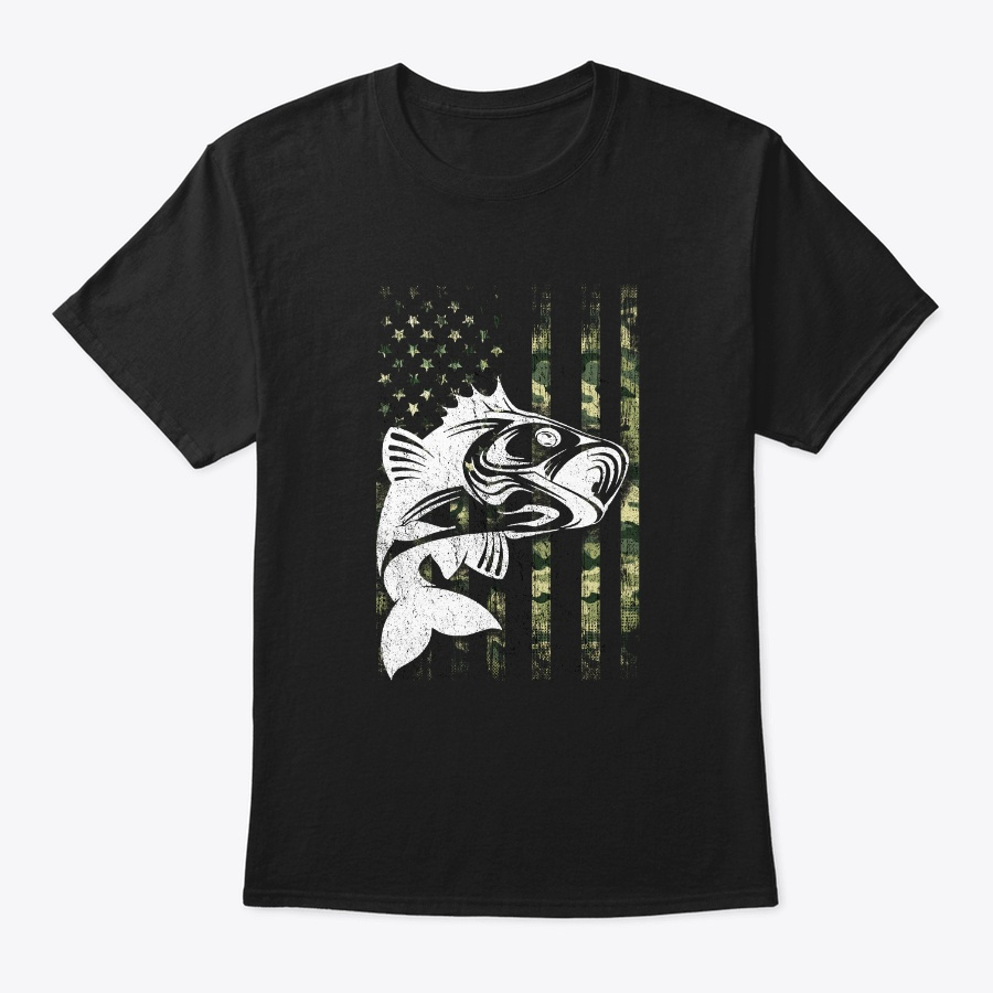4th Of July Fishing Camouflage Lover Usa Unisex Tshirt
