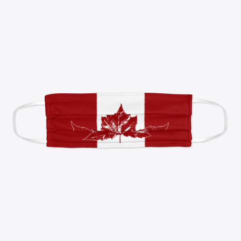 Cool Retro Canada Souvenirs Standard T-Shirt Flat