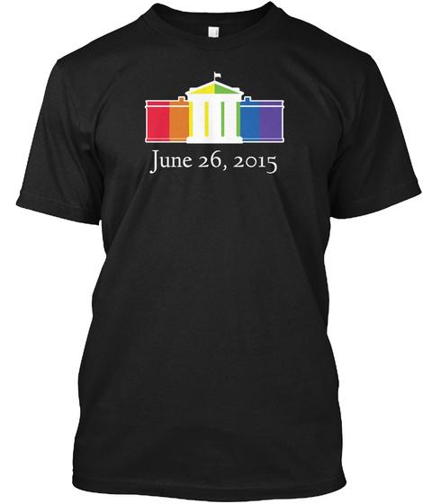 June 26,2015 Black T-Shirt Front