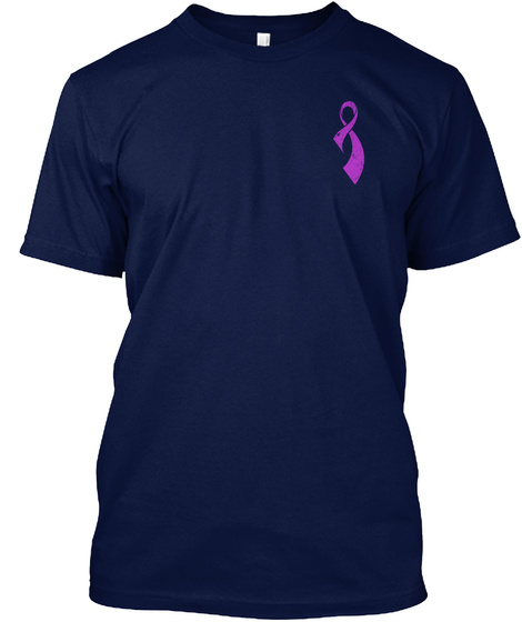 Epilepsy Awareness! Navy T-Shirt Front