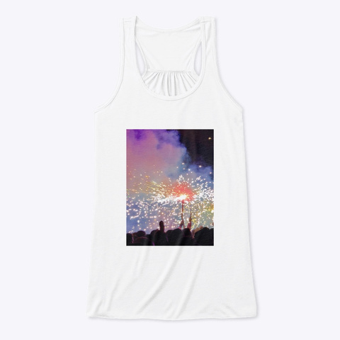 Dimoni Sparks White T-Shirt Front