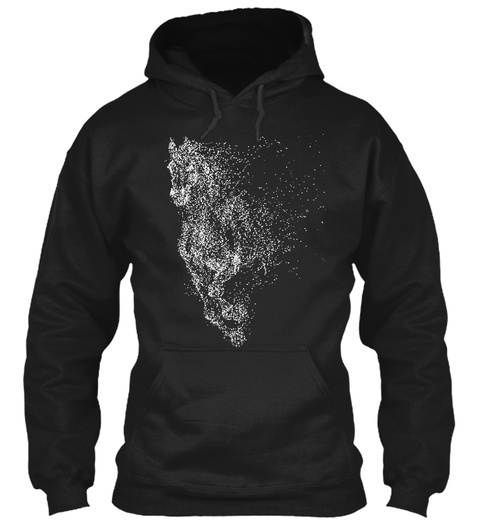 H0 Rse Lover   Art 14 Black T-Shirt Front