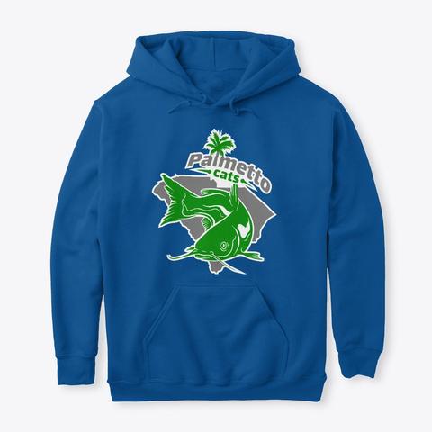 Palmetto Cats Sweatshirts Royal T-Shirt Front