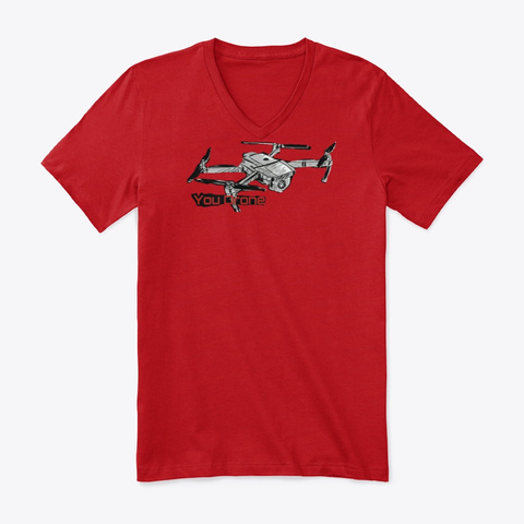 You Drone  Red T-Shirt Front