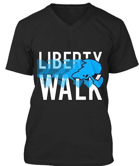 Liberty Walk Black T-Shirt Front
