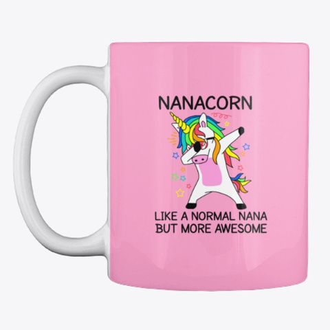 Nanacorn   Limited Time Pink Camo T-Shirt Front