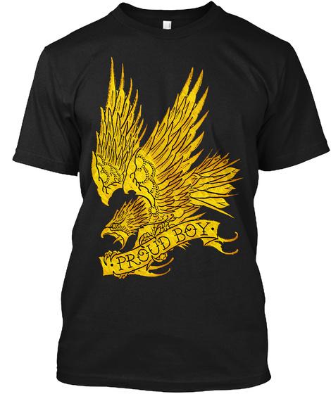 Proud Boy Black T-Shirt Front