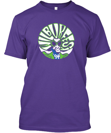 Wilburfesy 94 Wilburfest The Verge Homegrown Mustard Seed Gangster Pump Grinch Mother Nature's Blacklight Rainbow  No... Purple T-Shirt Front