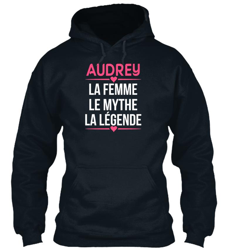 Audrey-La-Femme-Le-Mythe-Legende-Bequemer-Kapuzenpullover