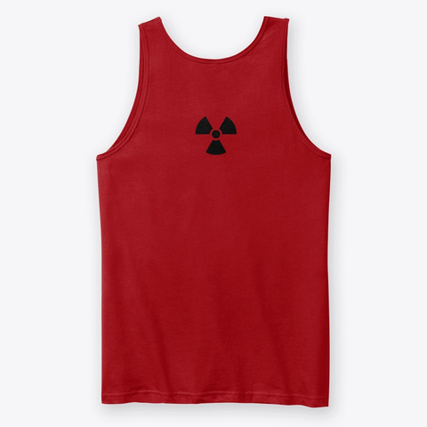 X Ray Red T-Shirt Back