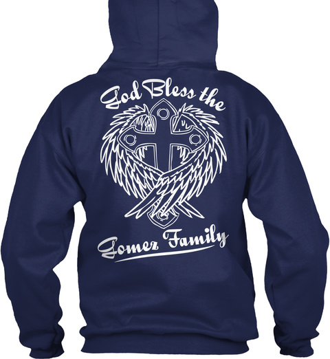 Ble Ss D The O G Gomez Family   Navy T-Shirt Back