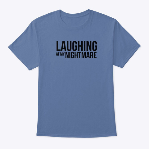 Lamn Tee Denim Blue áo T-Shirt Front