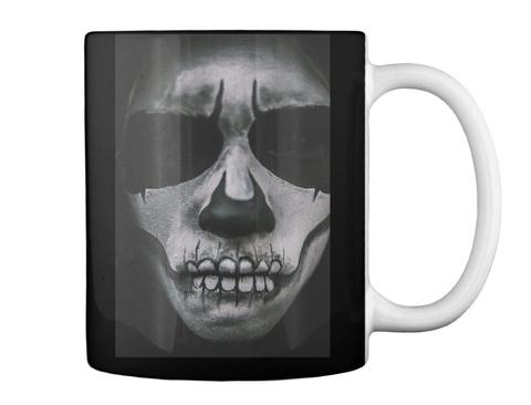 Psycho Halloween Mug! Black Mug Back