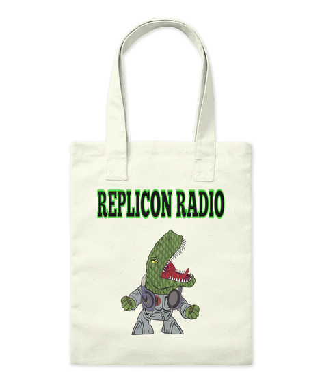 Replicon Radio Natural T-Shirt Front
