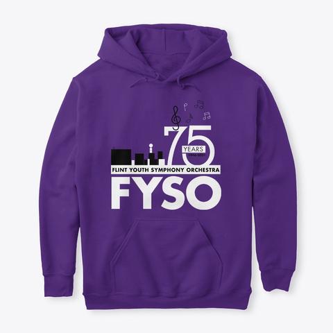 Fyso 75th Anniversary Wear Purple T-Shirt Front
