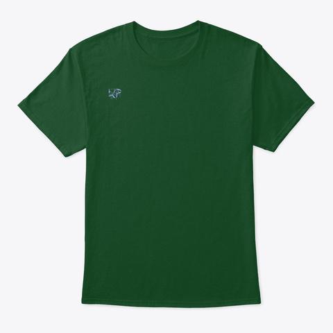 School House Cloud Deep Forest T-Shirt Front