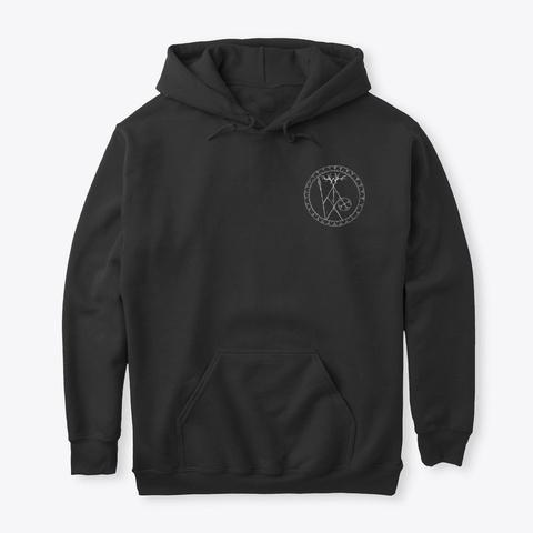 Norse Shaman  Black T-Shirt Front