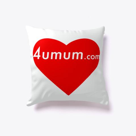 4umum Pillow Standard T-Shirt Back