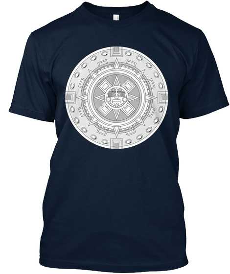 Traditional Advanced Security System New Navy T-Shirt Front
